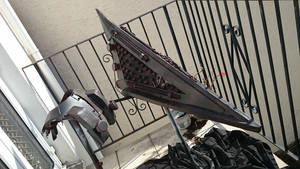 Pyramid Head - helmet and neck brace - revisited