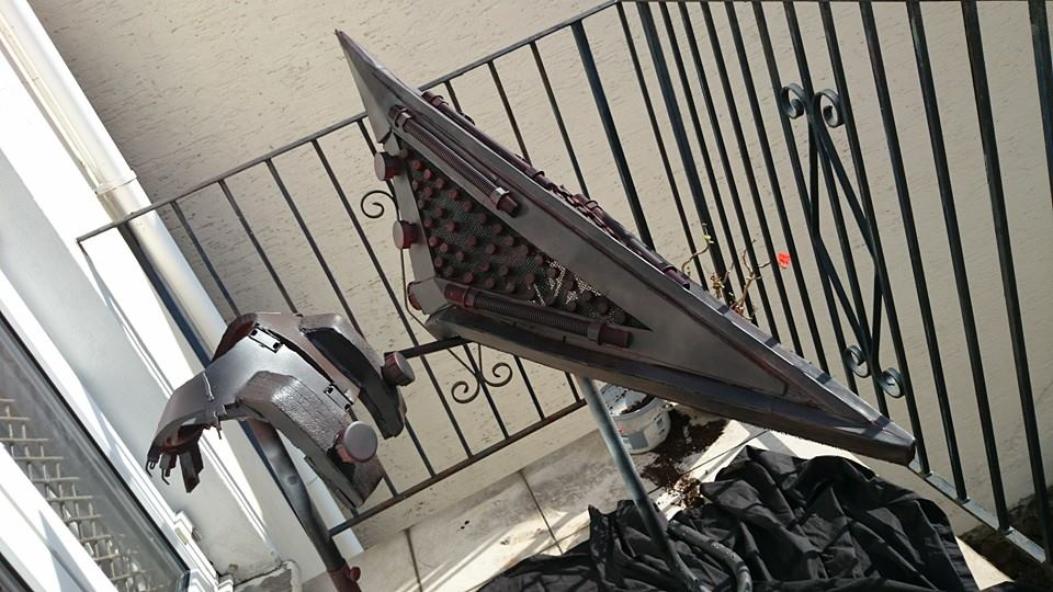 Pyramid Head - helmet and neck brace - revisited by Dax79