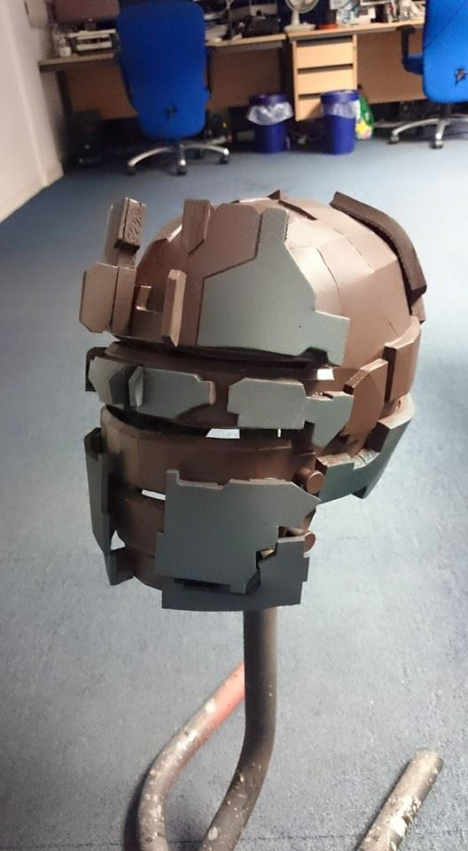 W.I.P - DeadSpace Helmet before lights by Dax79