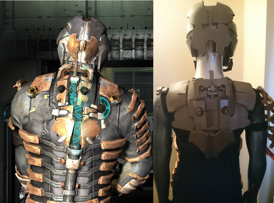 DeadSpace 2 - Ref Vs W.I.P. by Dax79