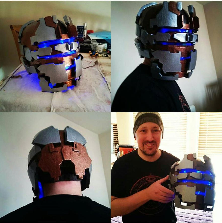 DEADSPACE 2 ENGINEER HELMET by Dax79