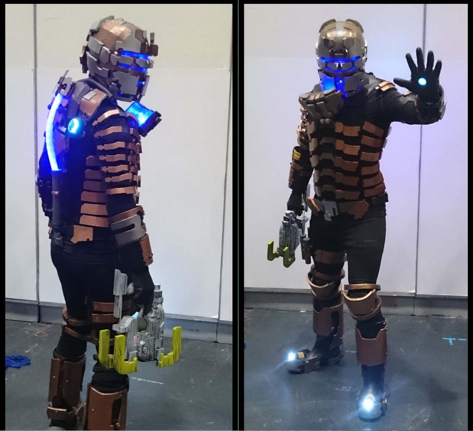 isaac clarke cosplay dead space 2 by dax79 on deviantart