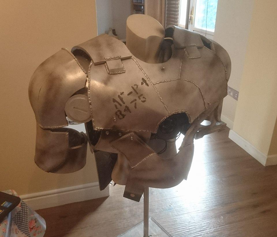 Iron Man MK1 Cosplay WIP by Dax79