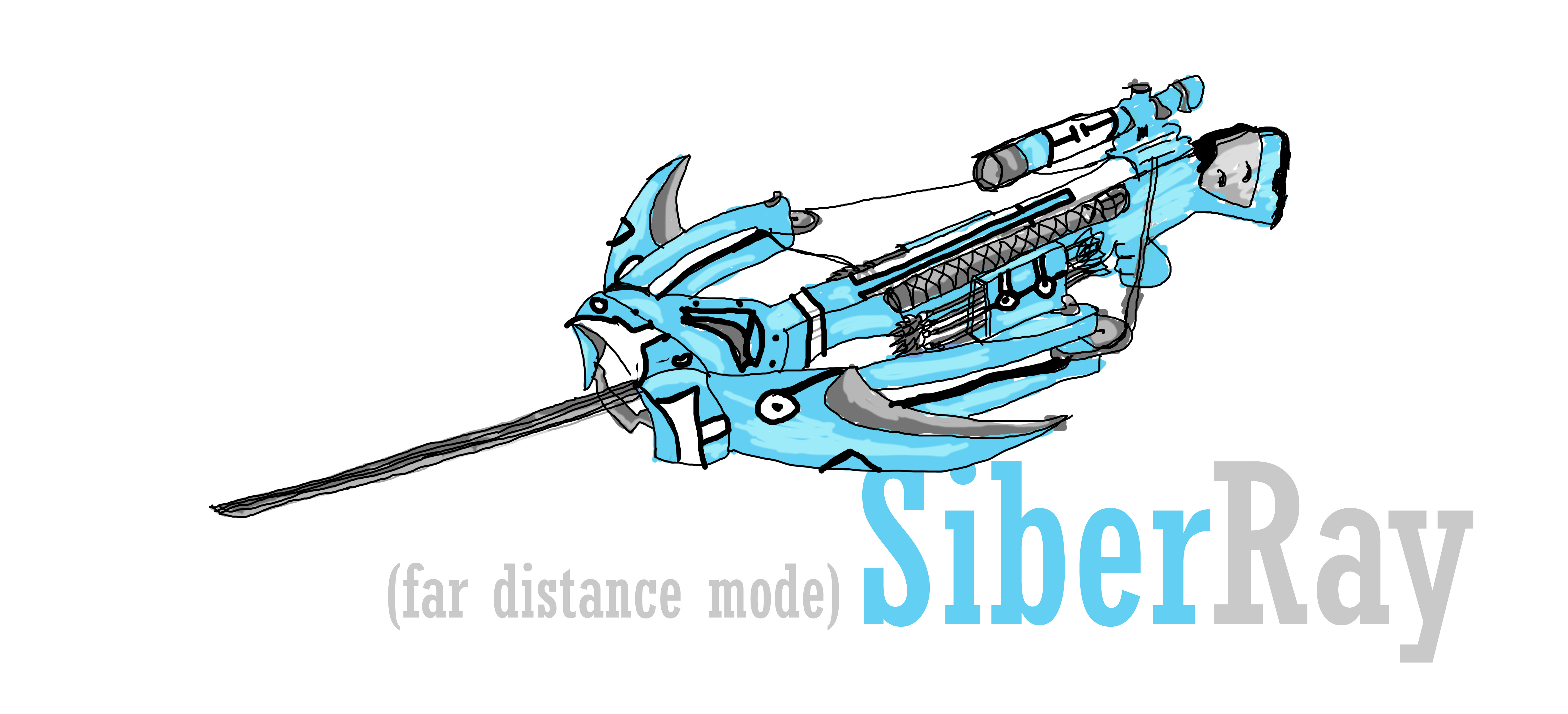Siber Ray Fanmade Weapon Based On Rwyb By Serphed