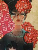 Falling (Ophelia15) by KanchanMahon