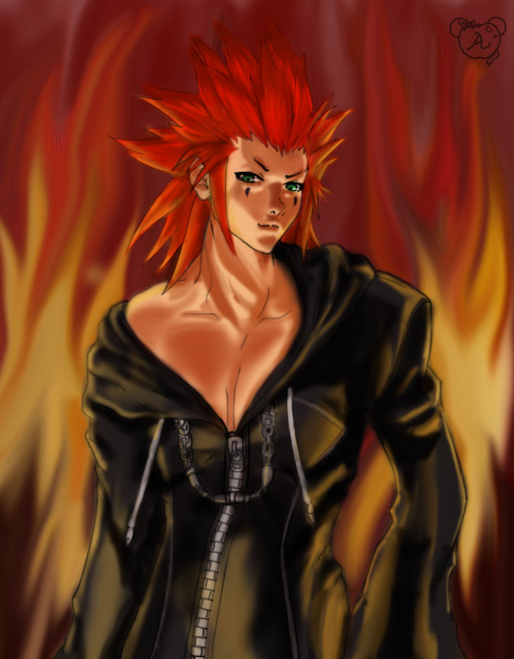 Axel- I'm so HOT!, Got it memorized? by apricotmouse
