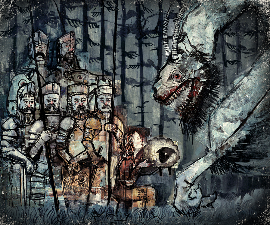 Dragon of Wawel by Miko-M