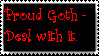 My Goth Stamp by The-Mixed-Deviant13