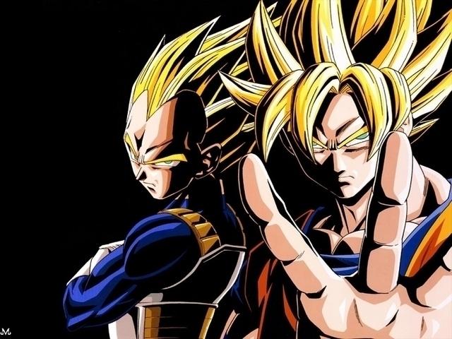 Goku and Vegeta by RoninoZ