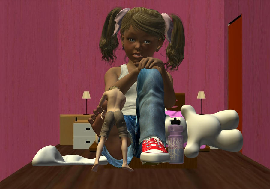 Giantess Carrei: My Big/little Bother By Artboy329 On DeviantArt