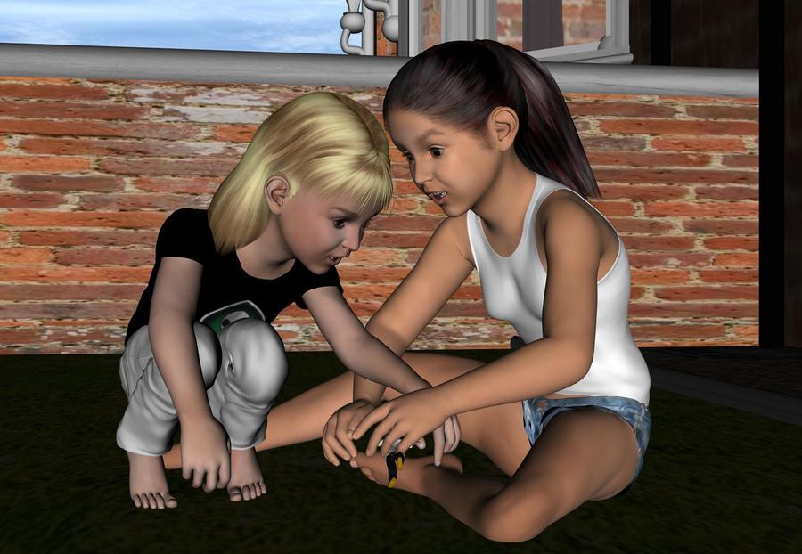Cream and teen
