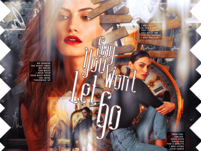 #Blend46 - Say You Won't Let Go by xXForainXx