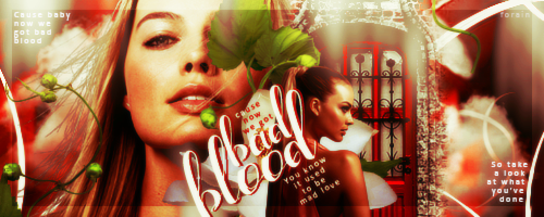 #Signature95 - Bad Blood by xXForainXx