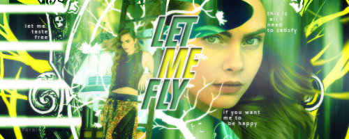 #Signature96 - Let Me Fly by xXForainXx