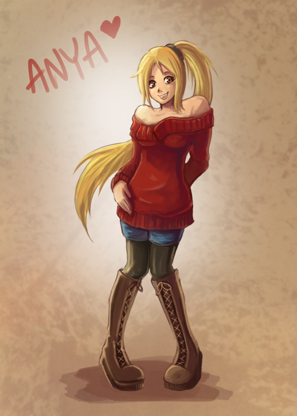 [AR] Anya by ns-wen