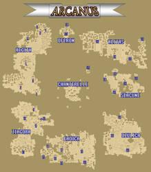 The World of Arcanus (for TehPurpleOne)