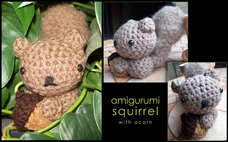 Amigurumi Squirrel Crochet Pattern : Amigurumi Squirrel by whithersoever on DeviantArt