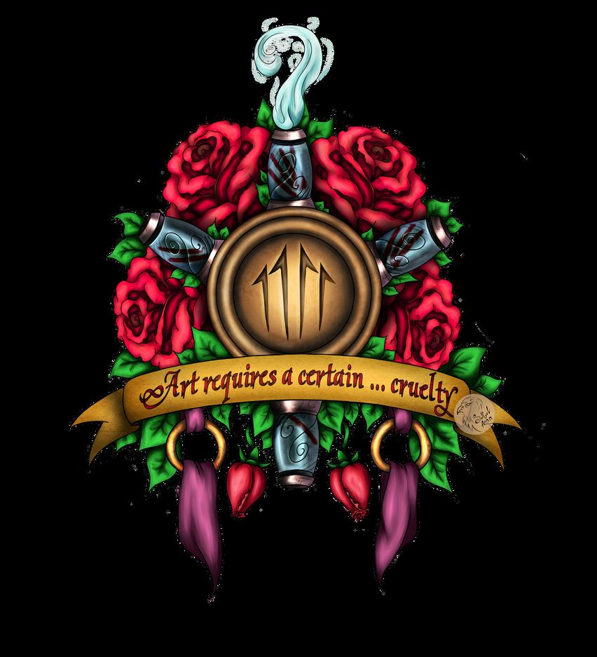 Jhin logo (league of legengs) by Sokol-Ann