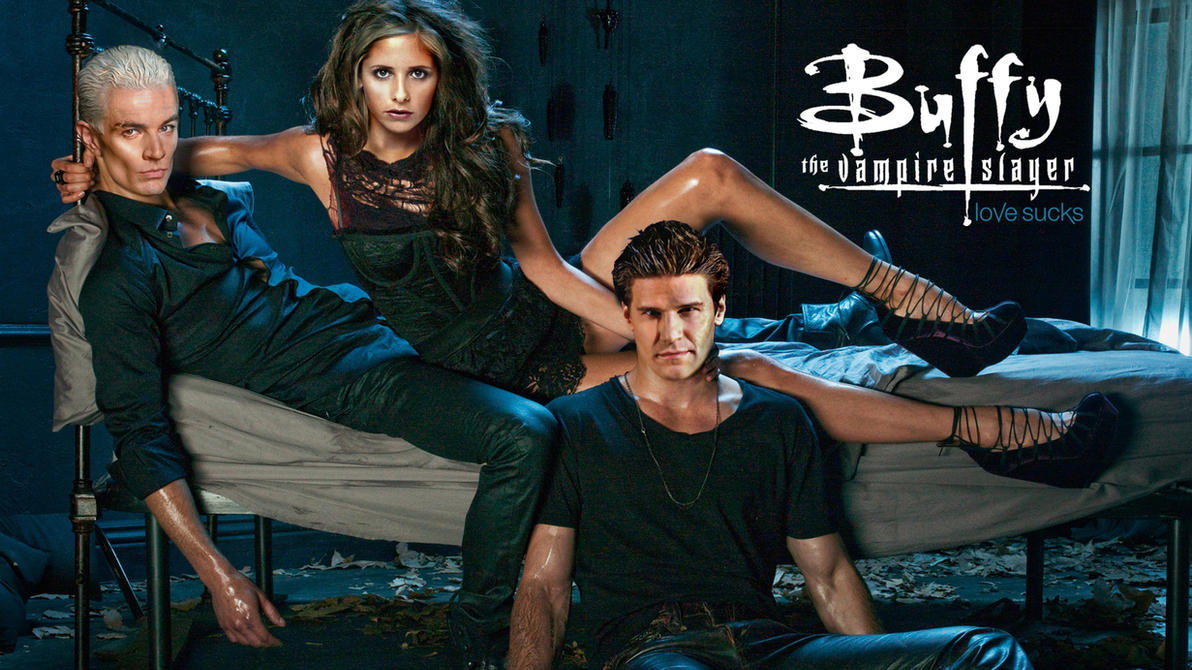 Buffy Vampire Diaries 4 Wallpaper 1080p High Q by outsider88
