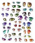 51 anime eyes