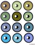 Eye Colours Chart