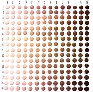 Skin Tone Swatches