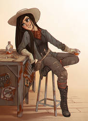 The Courier, Pre Mojave by Lizalot
