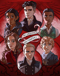 Six of Crows by Lizalot