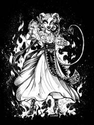 Hellish Rebuke by Lizalot
