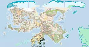 Faerunian continent