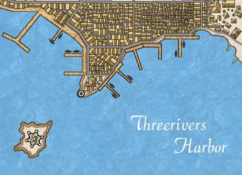 Threerivers City Waterfront by Markustay
