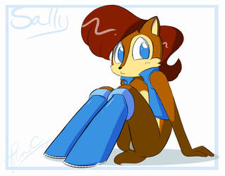 Sally Acorn by UnderSwag