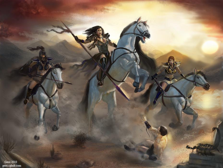 Desert guard by geors