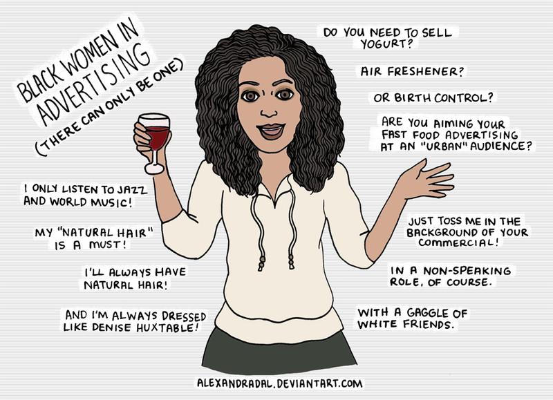 Black Women in Advertising by AlexandraDal