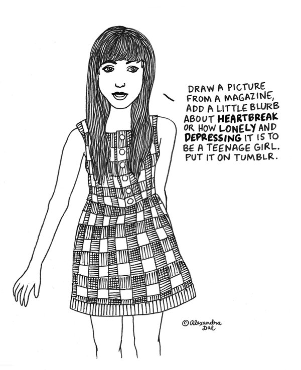 ''Comics,'' Tumblr-style by AlexandraDal
