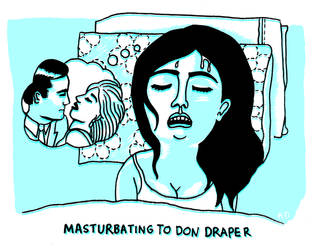 Masturbating to Don Draper by AlexandraDal