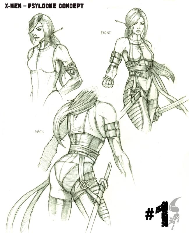 Psylocke Concept by Arta