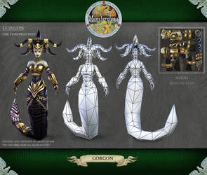 Monsterology - Gorgon Construction