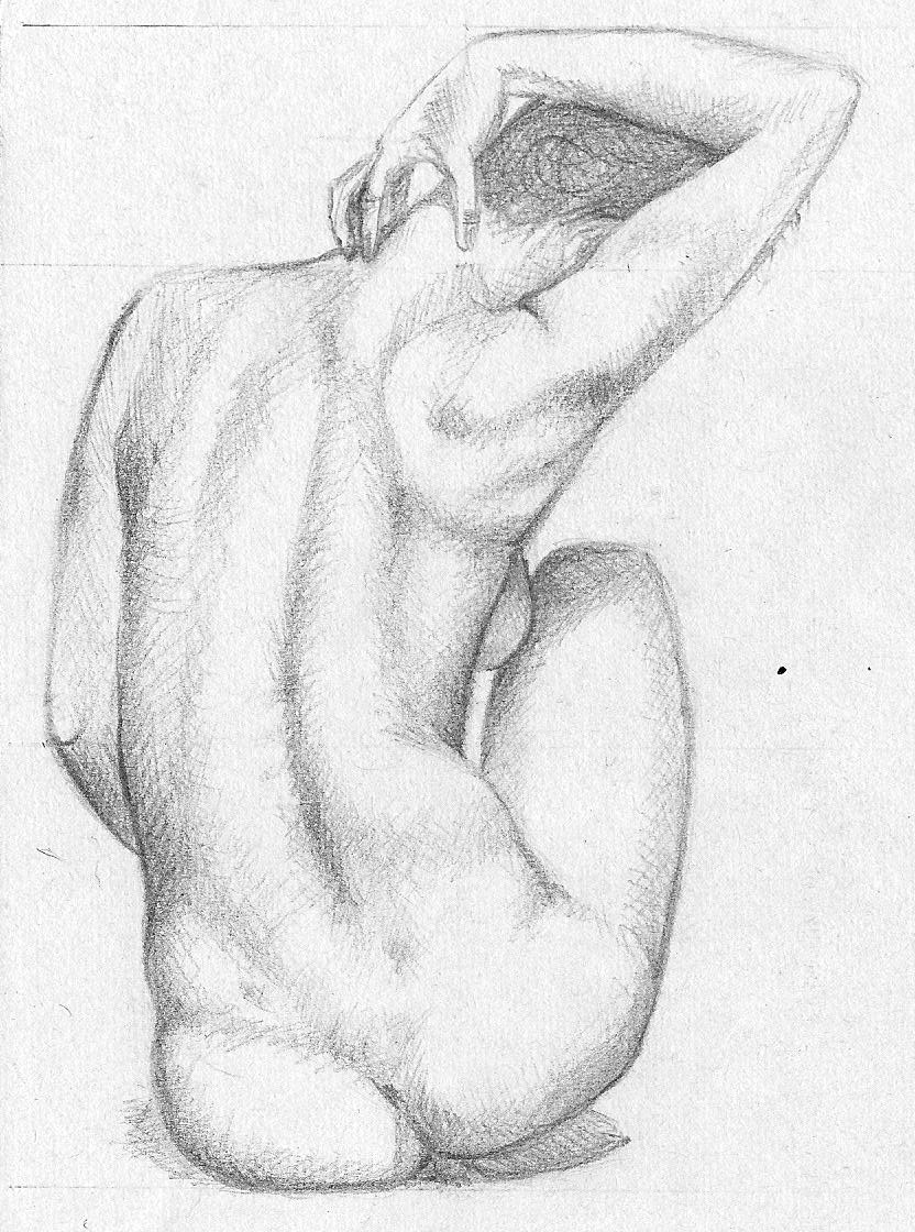 Female nude by 99darkSmiles