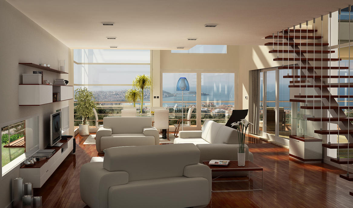 cottage interior by elftug on deviantart. Black Bedroom Furniture Sets. Home Design Ideas