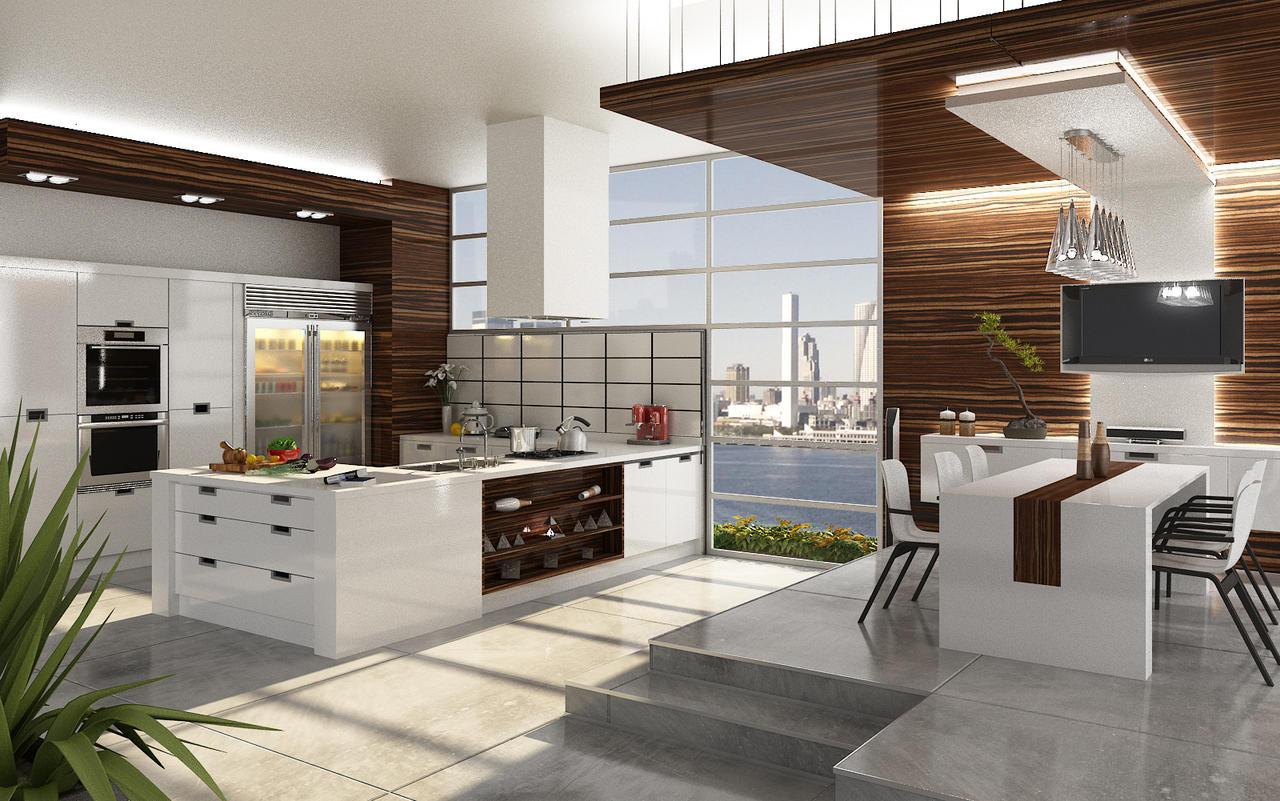 Cucine 3 by elftug on deviantart for Interior design cucine