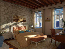 alacati hotel room by ELFTUG