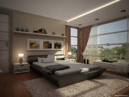 villa bedroom by ELFTUG