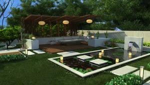 pergola 4 with pool