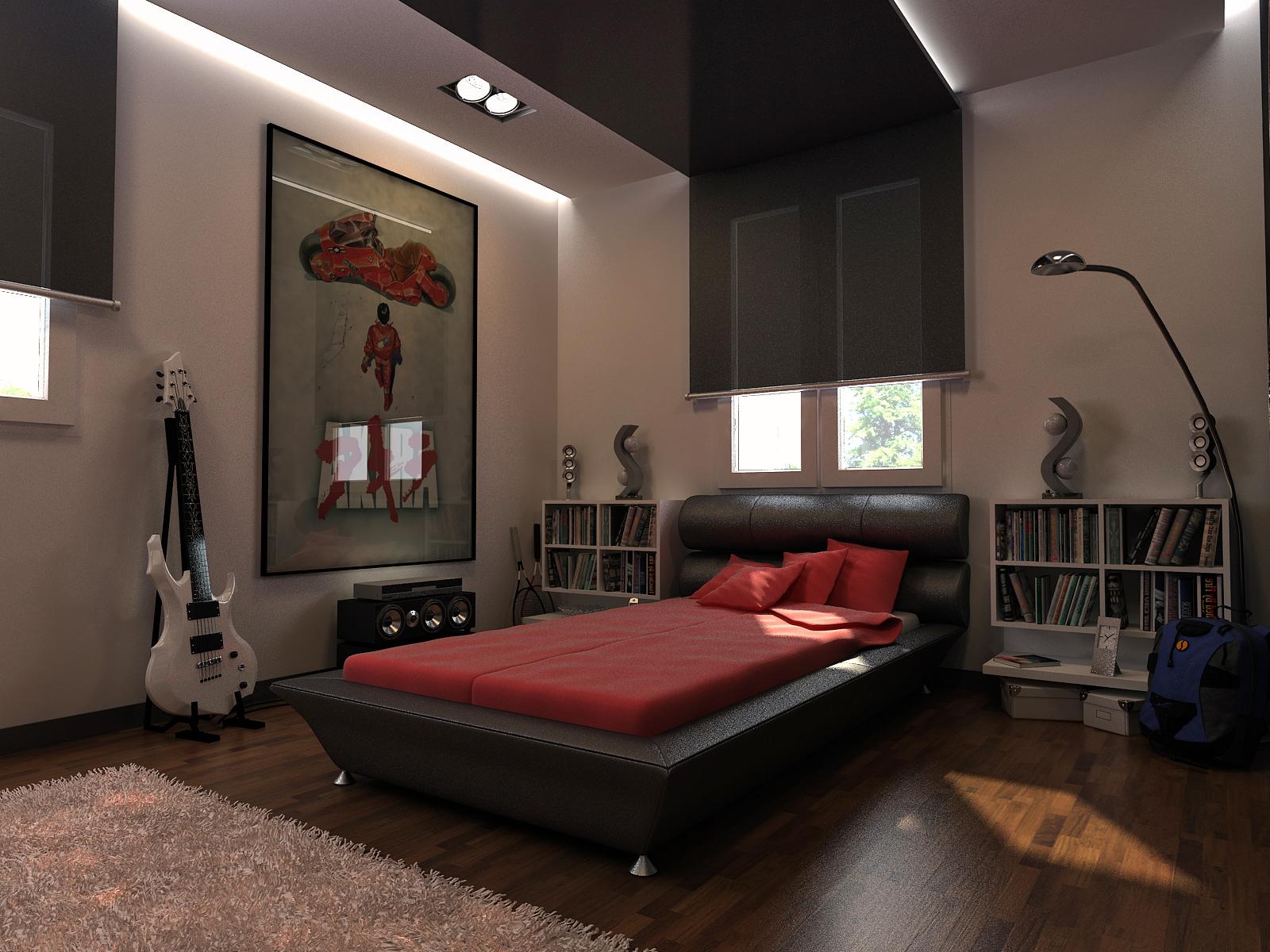 boy room by ELFTUG on DeviantArt