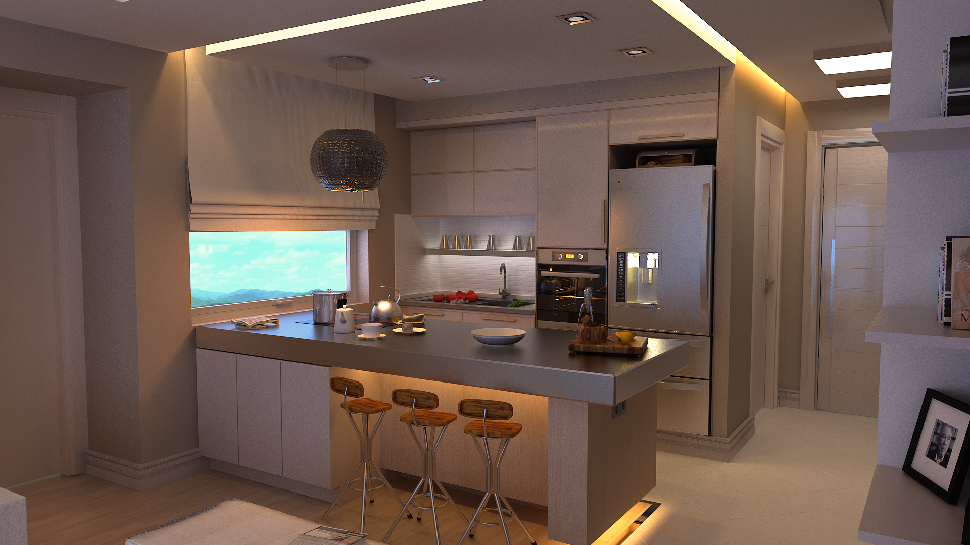 Cucine 3d beautiful florida with cucine 3d gallery of for Top arredi floridia