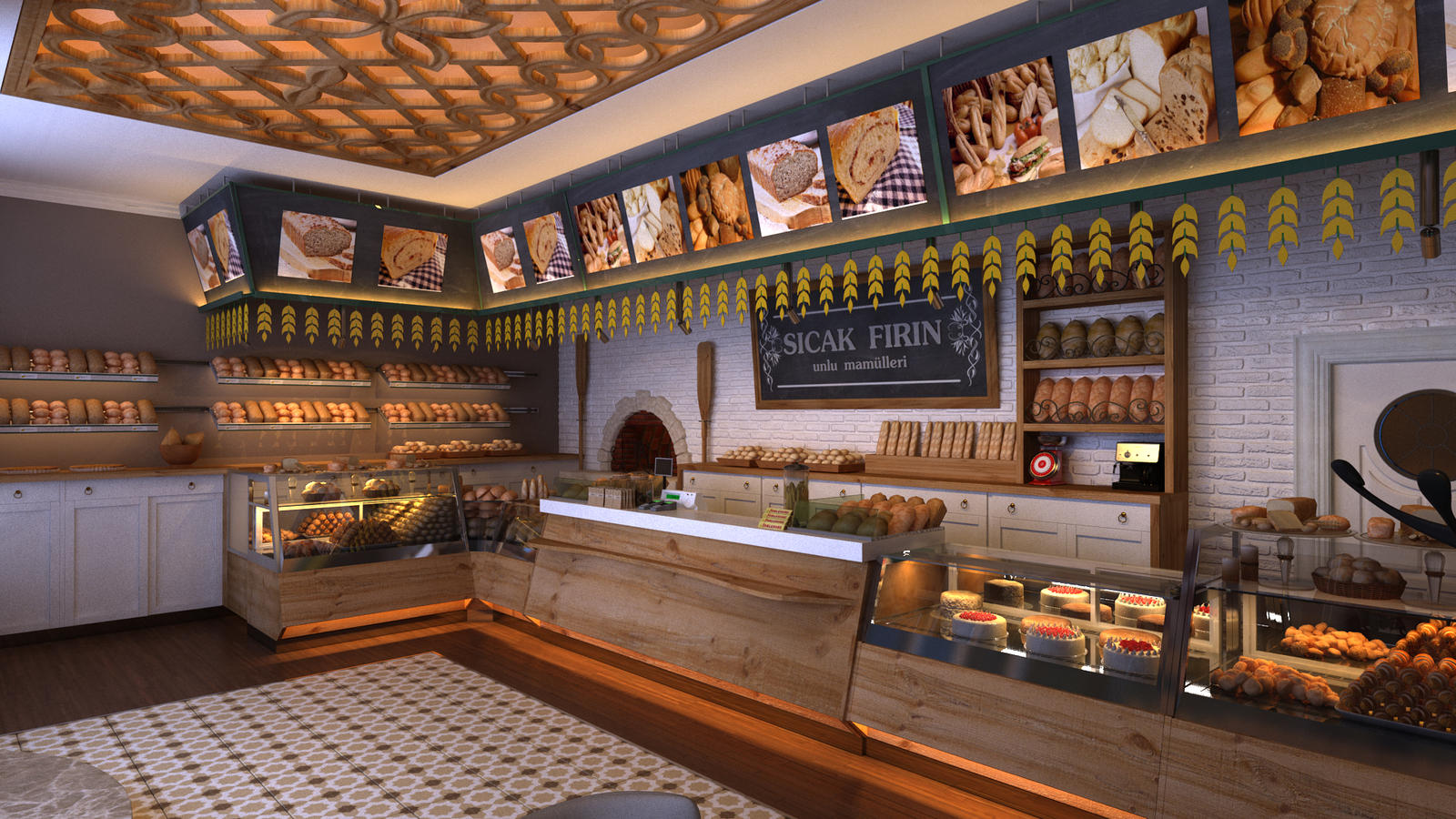 bakery concept by ELFTUG