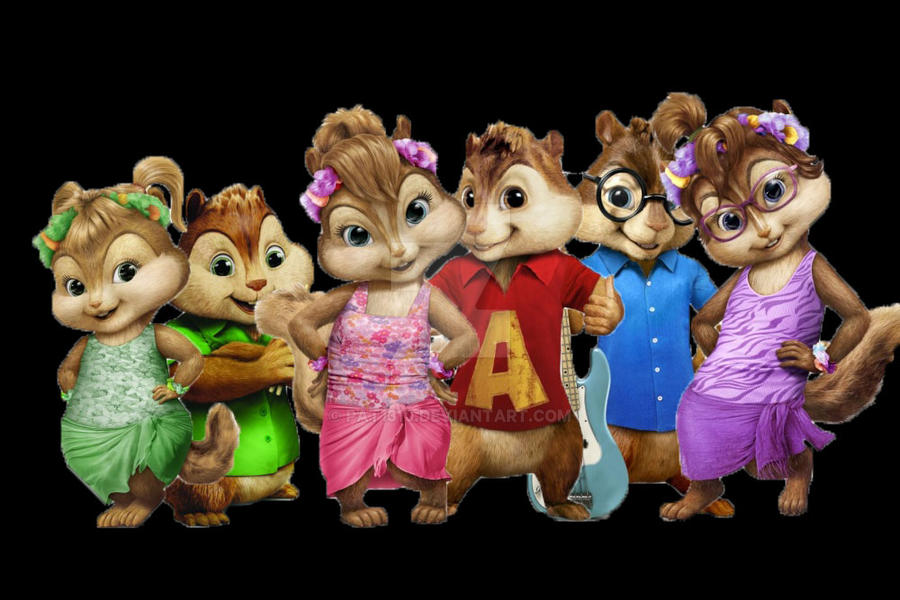 Chipettes and Chipmunks by Pat1310 on DeviantArt