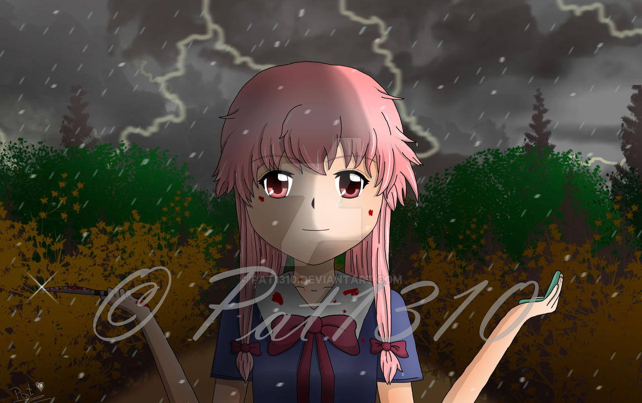 Yuno Gasai Death To Your Heart By Pat1310 On Deviantart