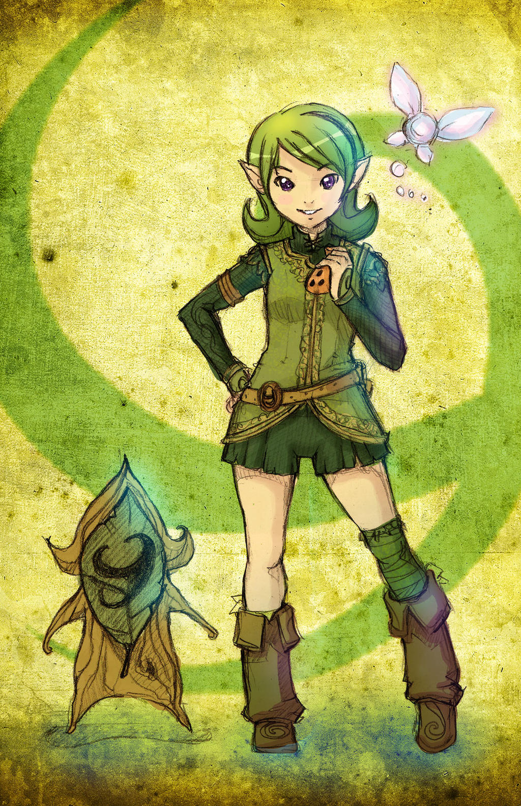 Little Saria by RaySama